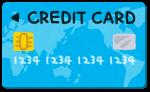 クレジット払いにも対応しています。
